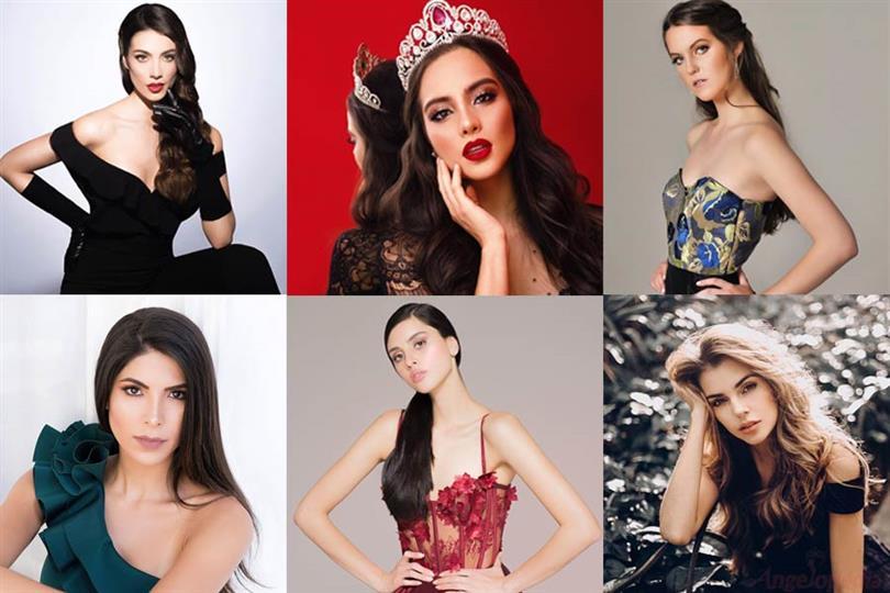Señorita Colombia 2019 Meet the Contestants