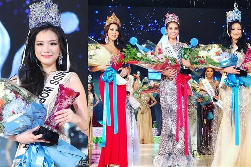Ah Cho crowned Miss World Korea 2018