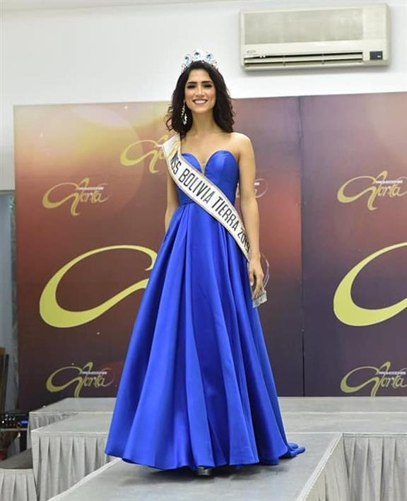 Fernanda Castedo is the new Miss Earth Bolivia 2019