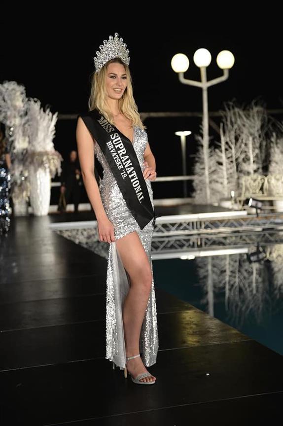 Helena Krnetic crowned Miss Supranational Croatia 2019