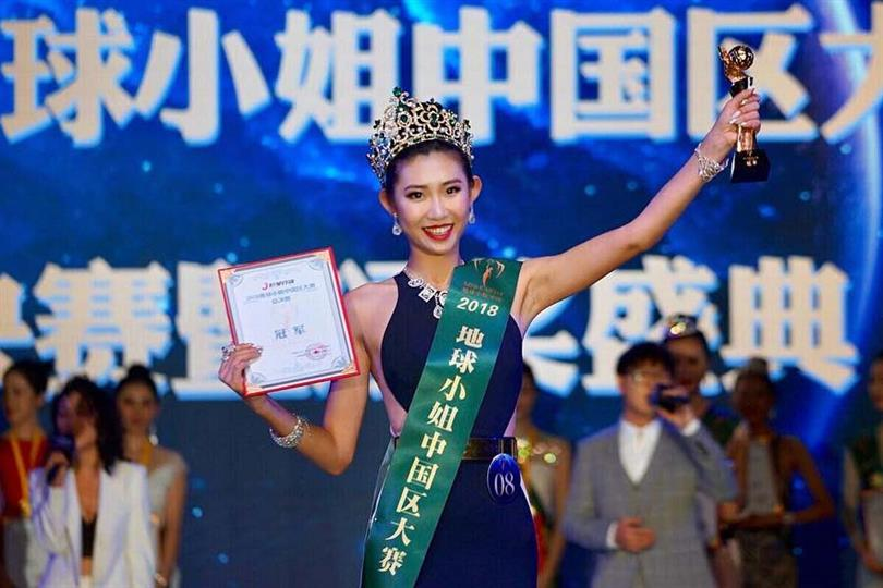 Meet Wentian Hu, Miss Earth China 2019 for Miss Earth 2019