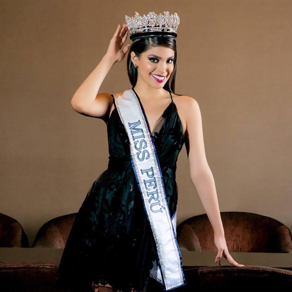 Anyella Pamela to lose the national crown of Miss Peru 2019