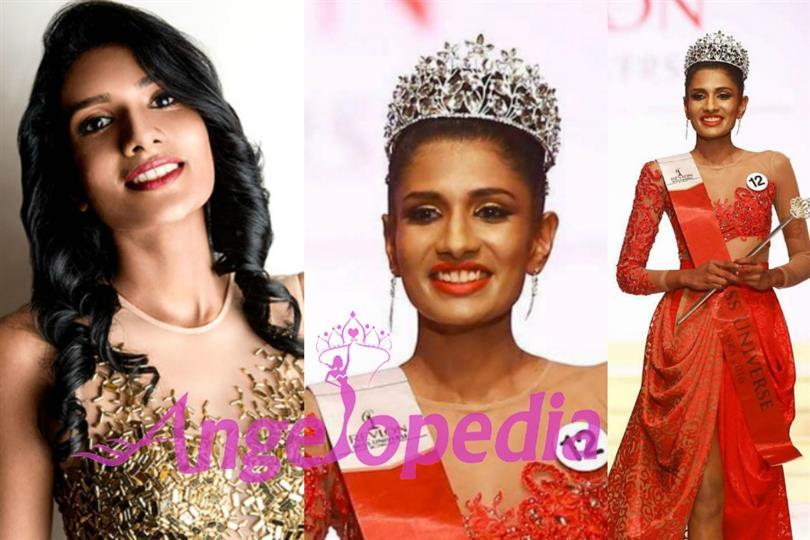 Sri Lanka's bet at Miss Universe 2016 is the stunning Jayathi De Silva