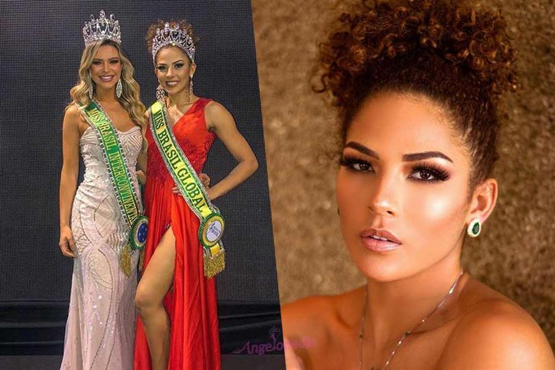 Juliana Soares crowned Miss Brasil Global 2018