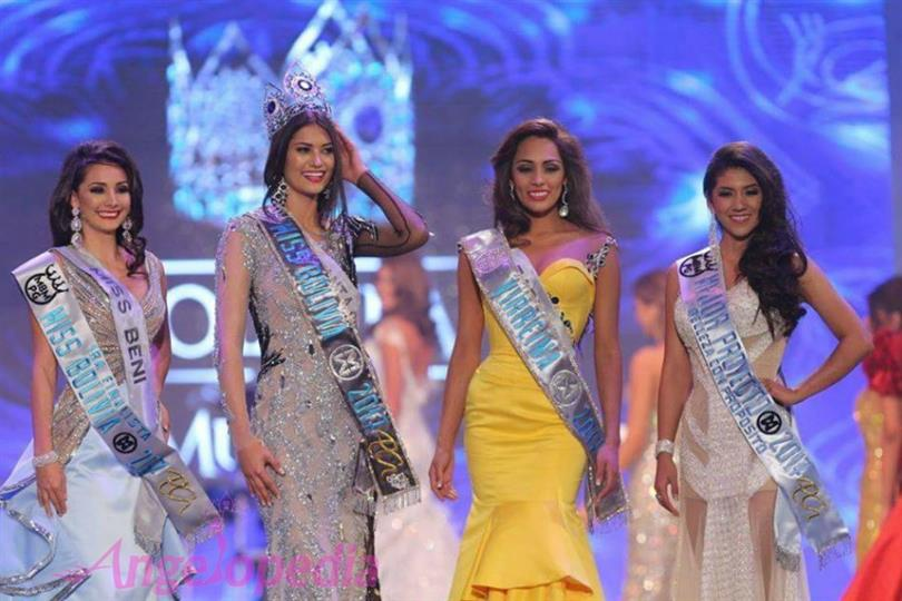 Yasmin Pinto Solar crowned as Miss World Bolivia 2017