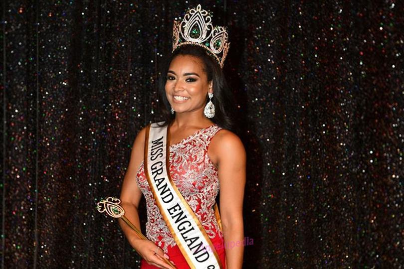 Christina Baker crowned Miss Grand England 2018