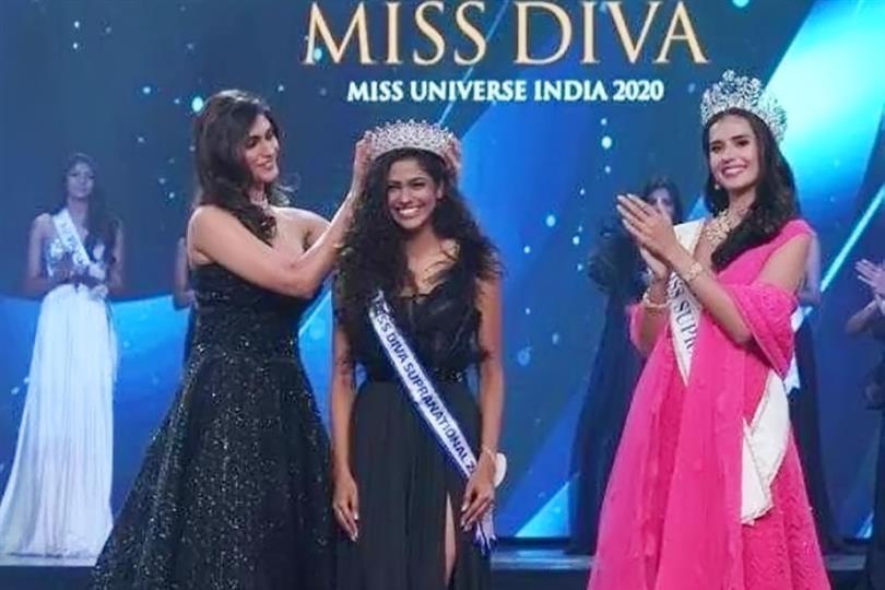 Image result for Adline Castelino wins Miss Diva Universe 2020
