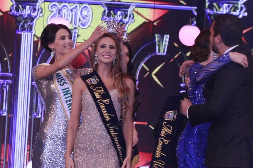 Alegria Tobar Cordoves crowned Miss International Ecuador 2019