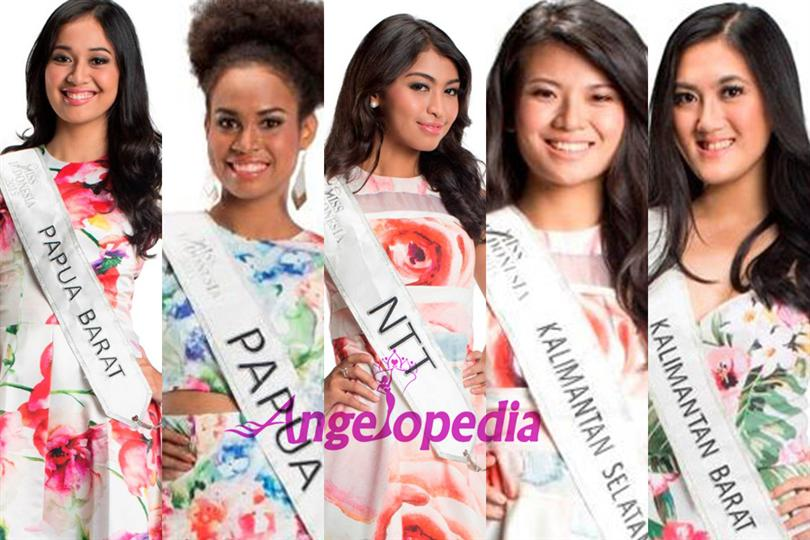 Miss Indonesia 2015 top 15 finalists