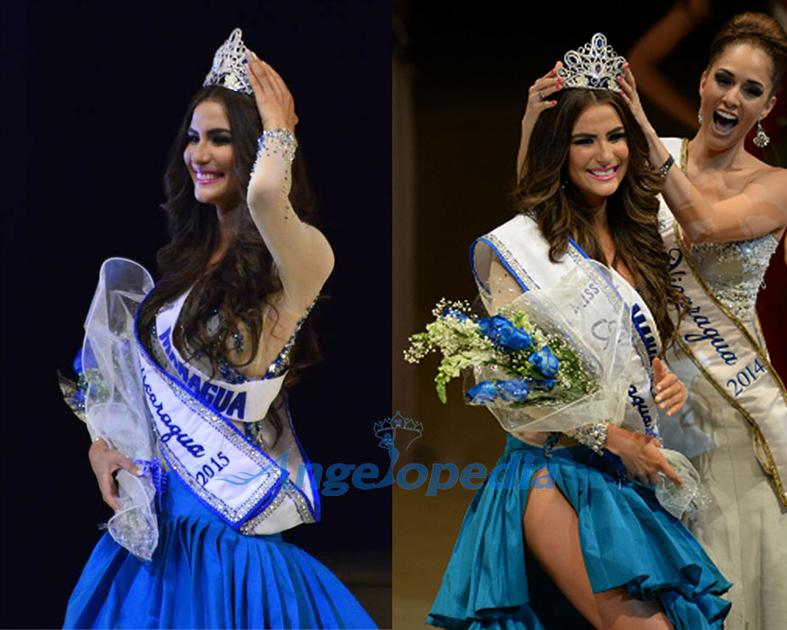 Daniela Torres Miss Nicaragua 2015