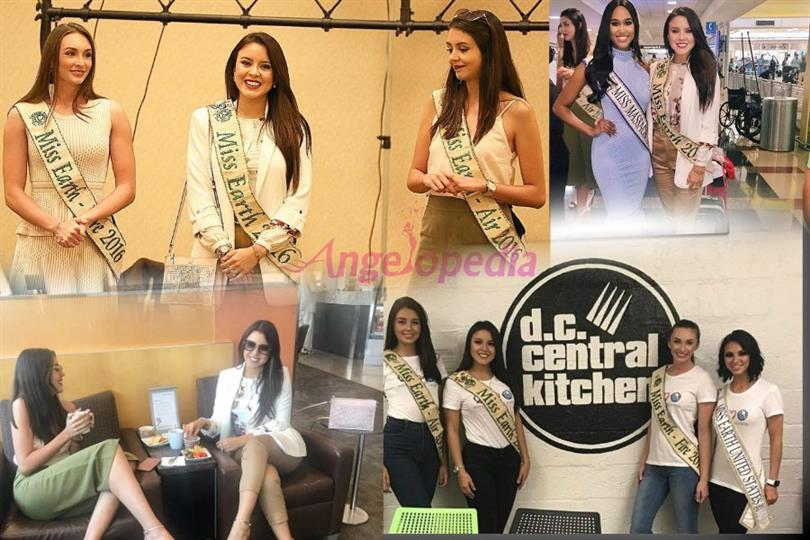 Miss Earth 2016 queens tour the US as part of Miss Earth United States 2017 activities