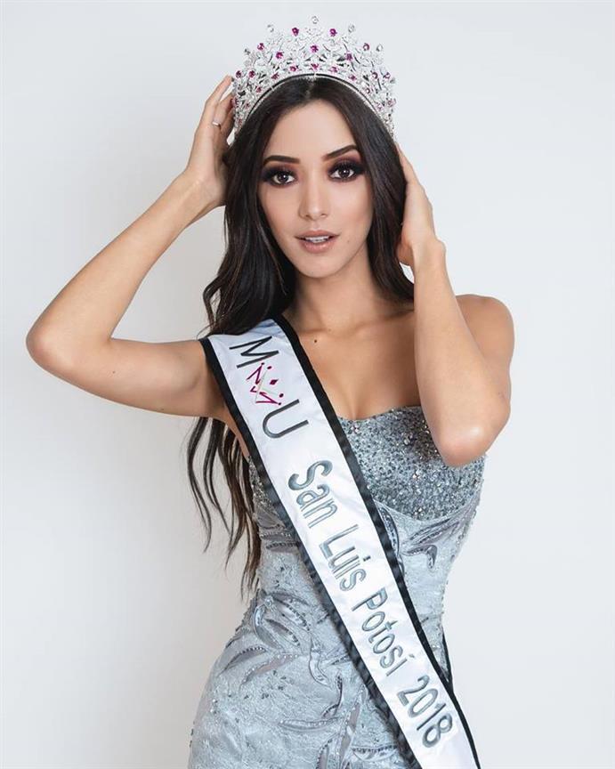 Meet Aurora Mancilla Mexicana Universal San Luis Potosí 2018 for Mexicana Universal 2019