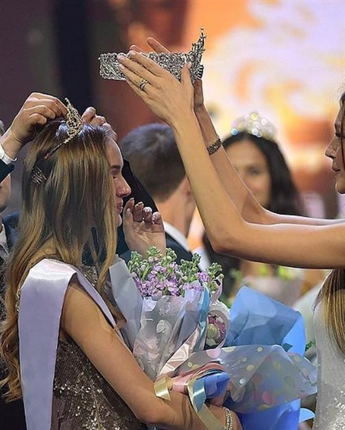 Anna Baksheeva crowned Miss Earth Russia 2019
