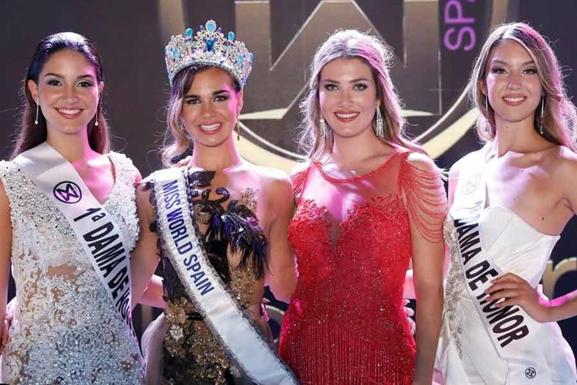 Maria Del Mar Aguilera crowned Miss World Spain 2019