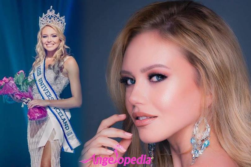 Katrín Lea Elenudóttir crowned Miss Universe Iceland 2018