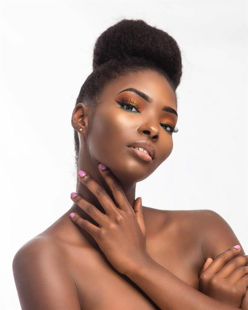 Melba Emmanuelah Shakabozha Miss Universe Zambia 2018, our favourite for Miss Universe 2018