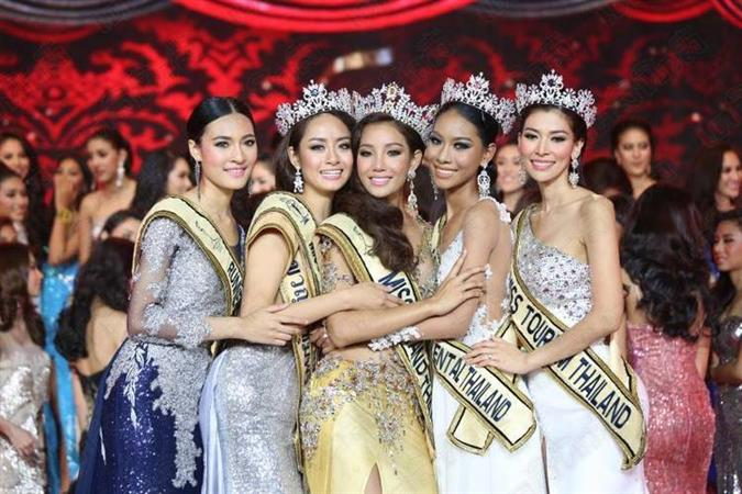 Miss Grand Thailand Winners and Top 5 finalists