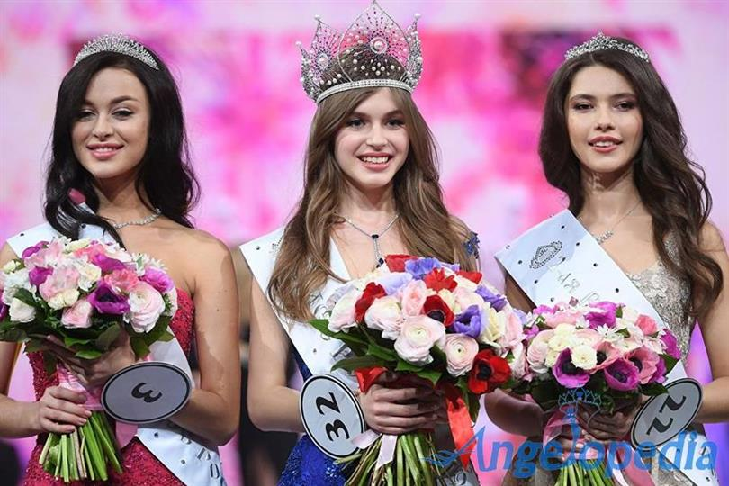 Alina Sanko, a student from Azov, crowned Miss Russia 2019