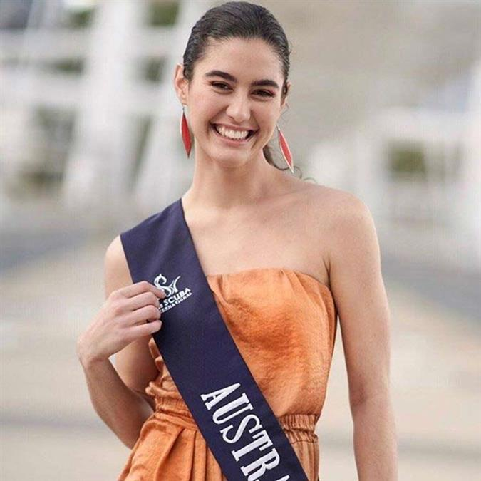 Michaela Shuttleworth of Australia crowned Miss Scuba International 2019