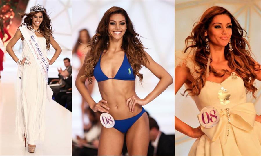 Edina Kulcsar crowned Miss World Hungary 2014 winner