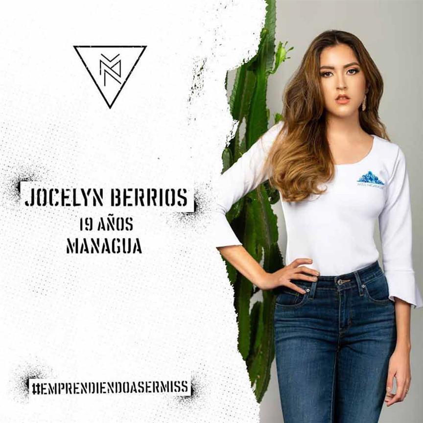 Miss Nicaragua 2019 Top 5 Hot Picks