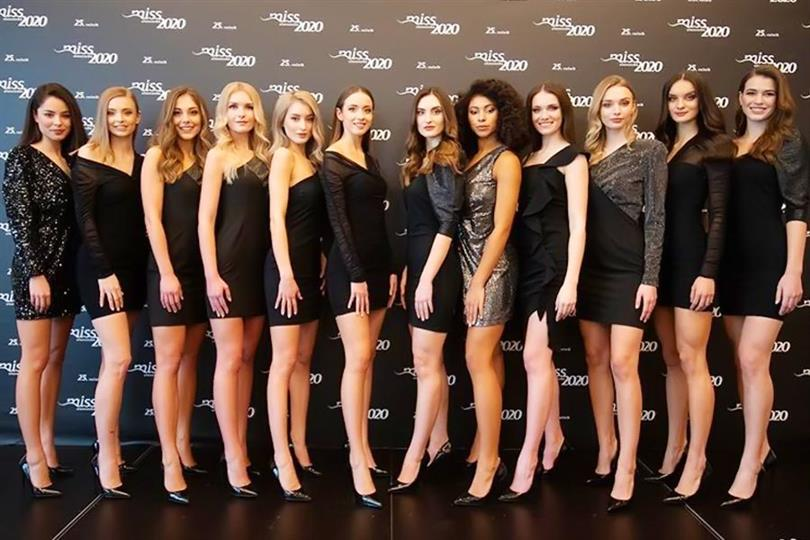 Miss Slovensko 2020 Meet the Contestants