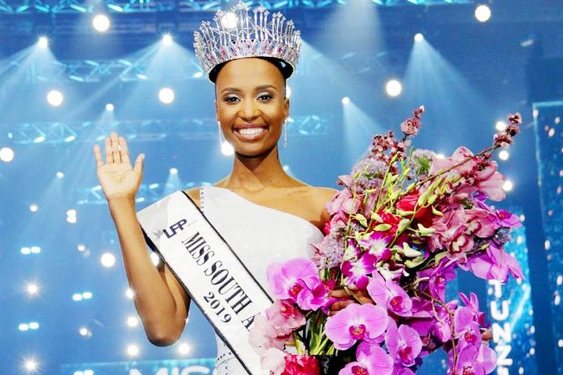 Zozibini Tunzi shares a hard-hitting answer as she completes one year as Miss South Africa 2019