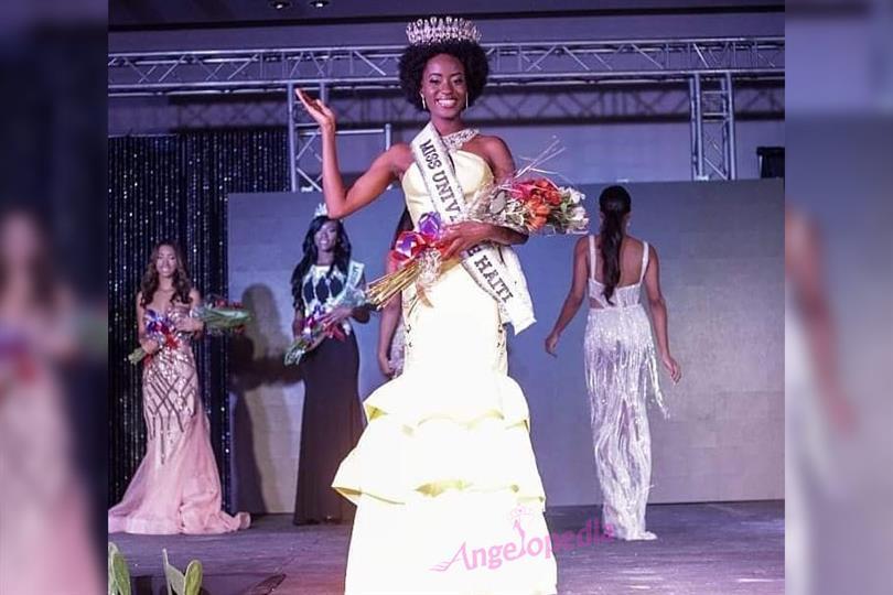 Samantha Colas crowned Miss Haiti 2018