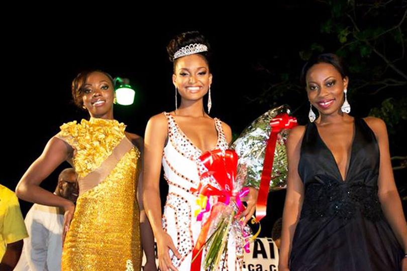 Winners Miss Guyana Universe 2014