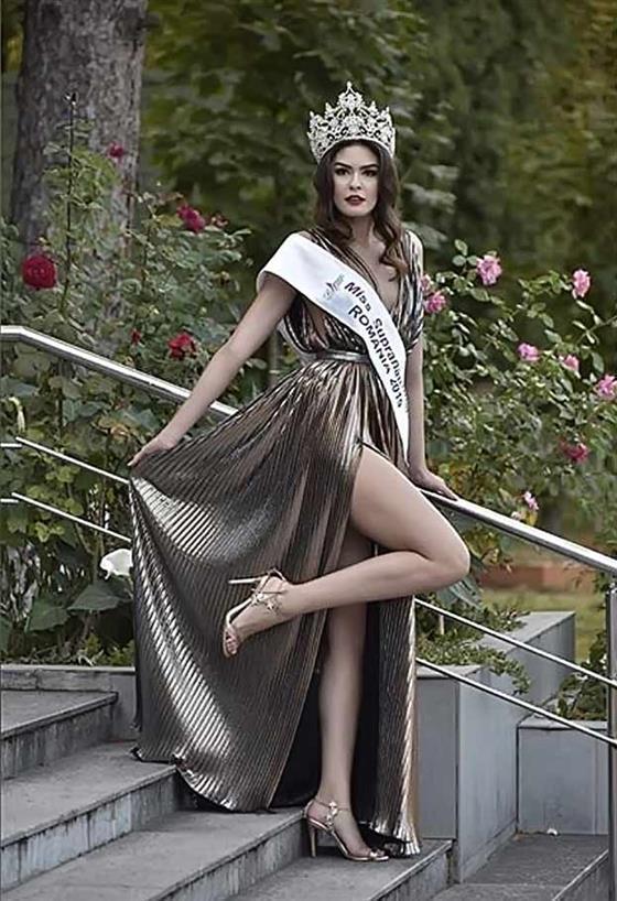 Alexandra Stroe crowned Miss Supranational Romania 2019