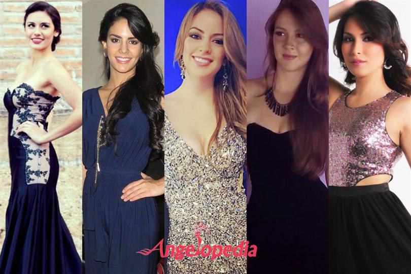 Miss Ecuador 2015 Runners-up