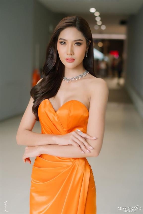 Miss Universe Thailand 2020 Wishlist: Moss Namoey Chanaphan