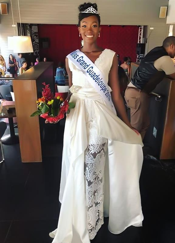 Nahémy Ceriac is Miss Grand Guadeloupe 2019