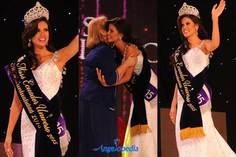 Miss Ecuador 2015 winner is Francesca Keyco Cipriani Burgos