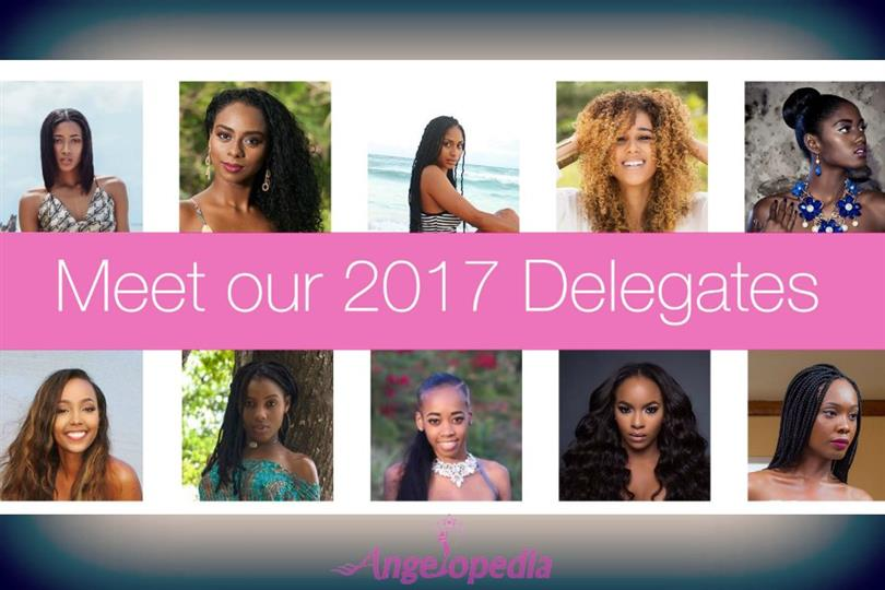 Miss Universe Barbados 2017- Meet the Contestants