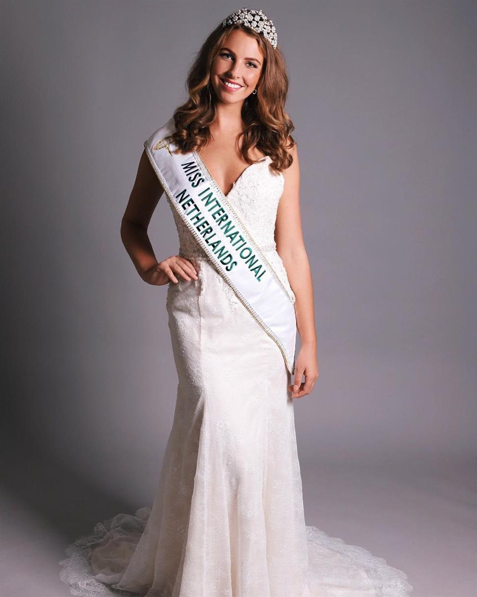 Zoë Amber Niewold to represent Netherlands in Miss International 2018