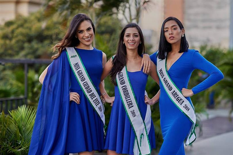 Miss Grand Paraguay 2018 Meet the Contestants