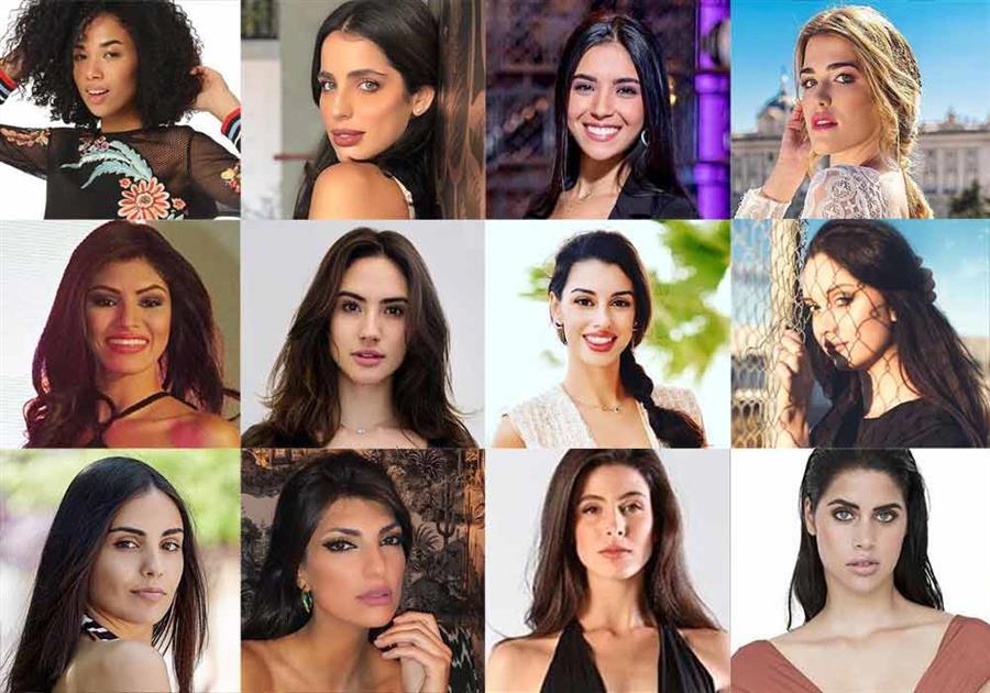 Miss Universe Spain 2019 Meet the Delegates
