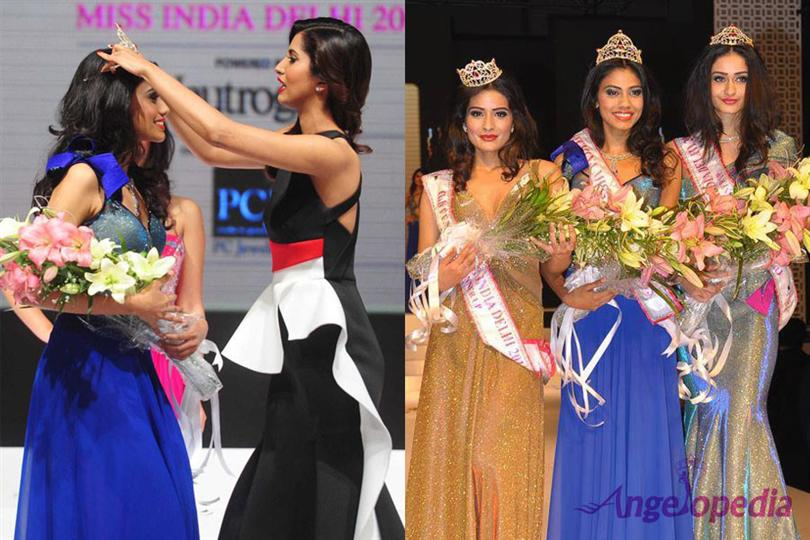 Apeksha Porwal Miss India Delhi 2015, crowning