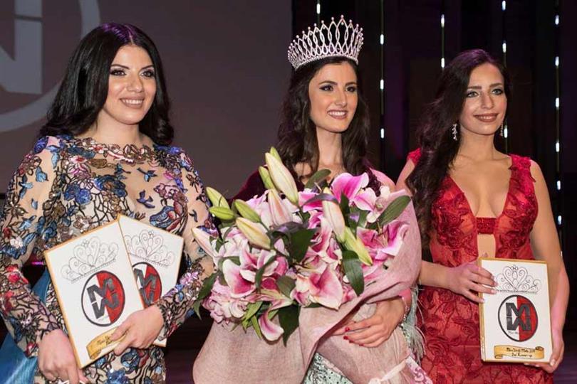 Nicole Vella crowned Miss World Malta 2019