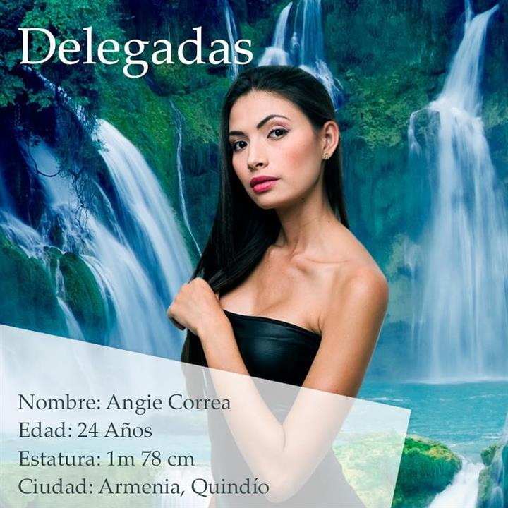 Angie Correa – Tenth Delegate of Miss Earth Colombia 2018