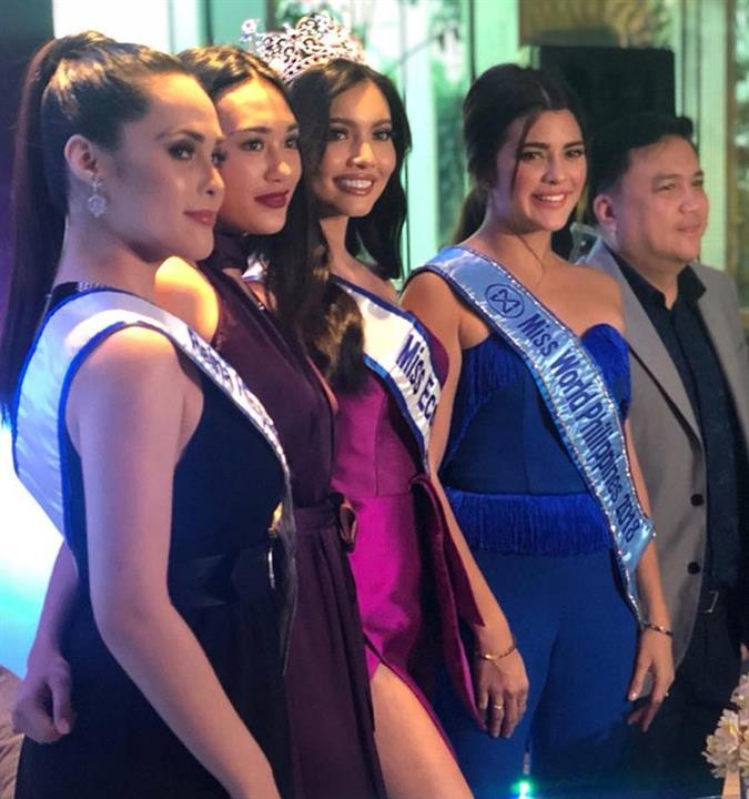 Sendoff Press Conference for Maureen Motagne Miss Eco Philippines 2018 for Miss Eco International 2019
