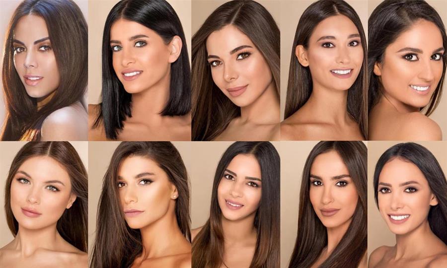 Miss Lebanon 2018 Meet the Contestants