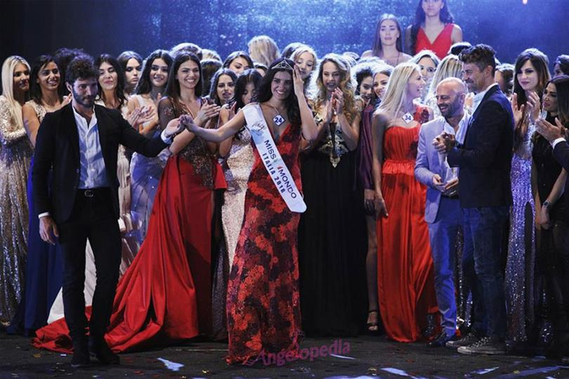 Nunzia Amato crowned Miss Mundo Italia 2018