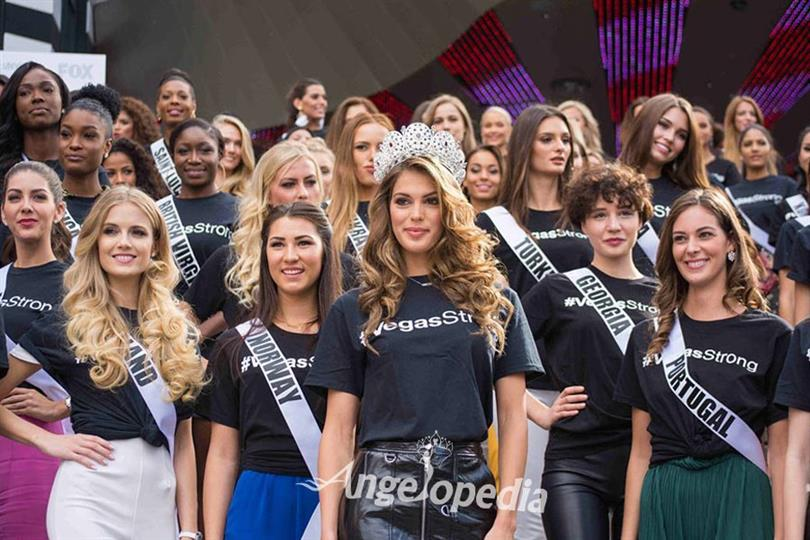 Official Welcome Ceremony of Miss Universe 2017 contestants!