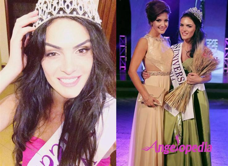 Zhaneta Byberi Miss Universe Albania 2014 Winner