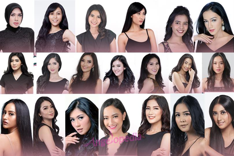 Meet the contestants of Puteri Indonesia 2018 for Miss Universe 2018