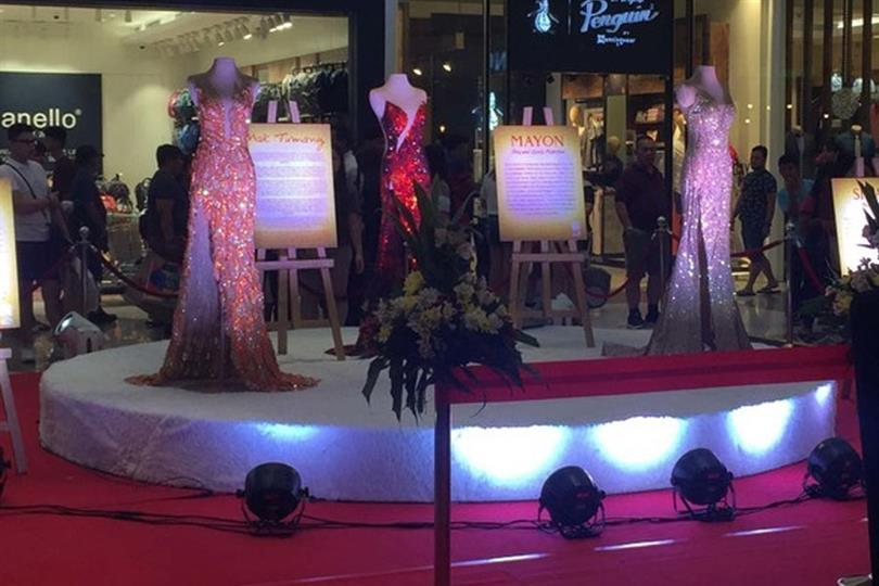 Catriona Gray's iconic Miss Universe gowns on display