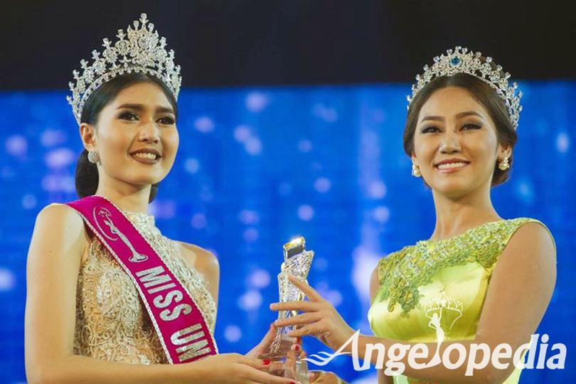 Zun Than Sin crowned as Miss Universe Myanmar 2017
