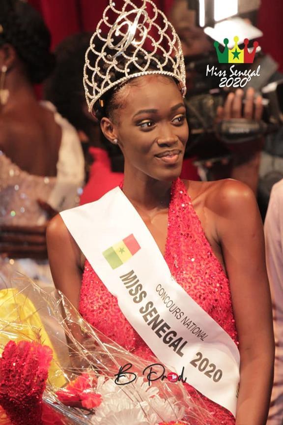 Ndèye Fatima Dione winner Miss World Senegal 2020